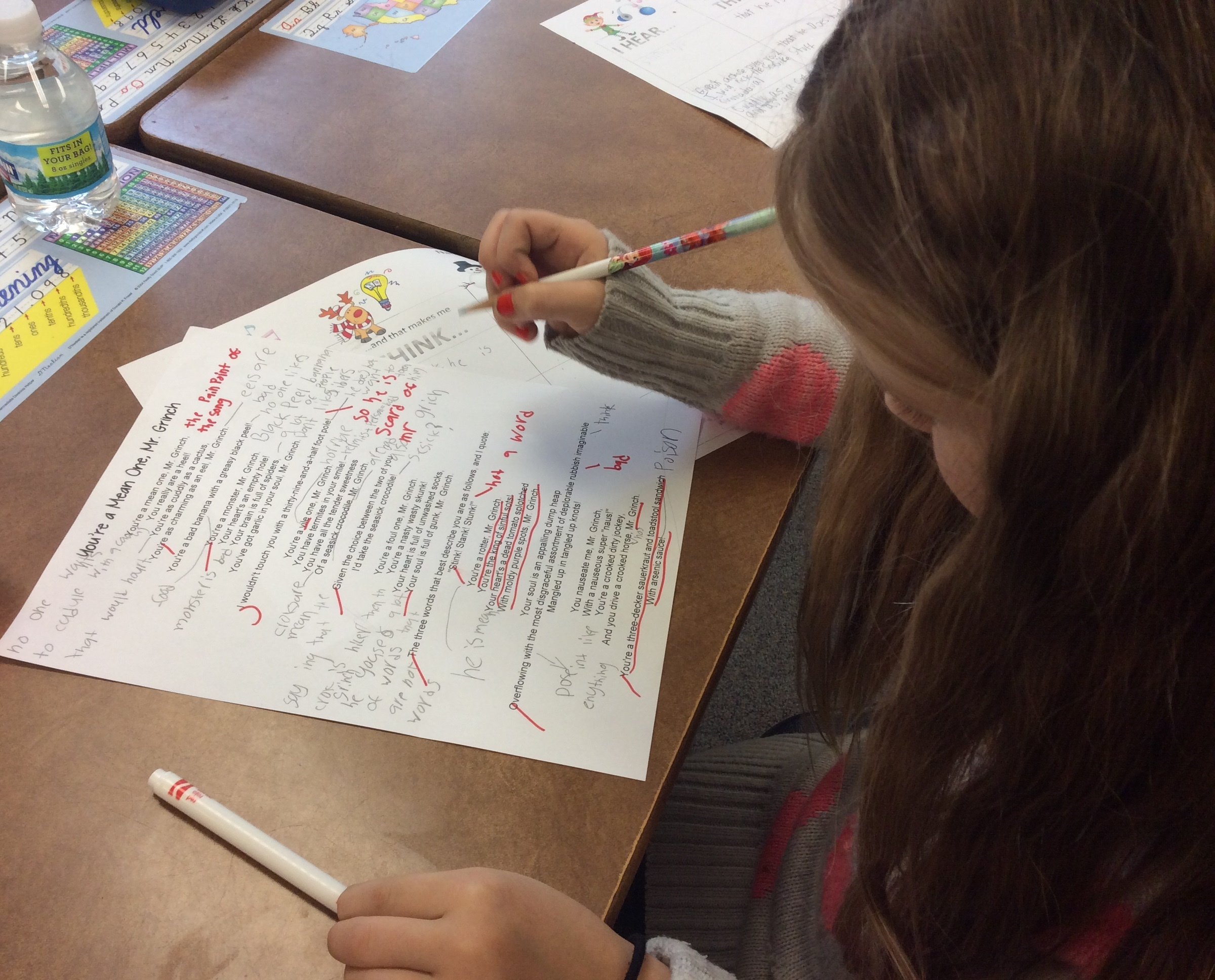 Close Reading with Holiday Songs and Books