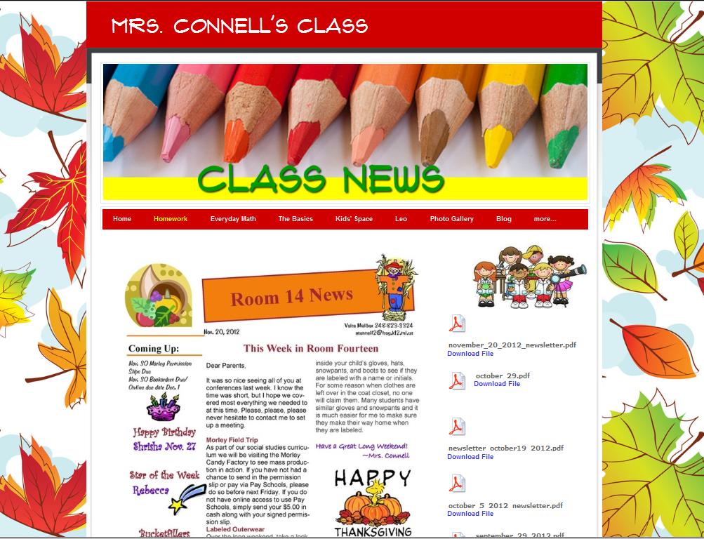Elementary Classroom Websites ~ Teacher website welcome pictures to pin on pinterest