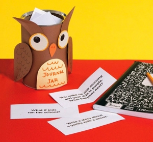 Owl Journal Jar