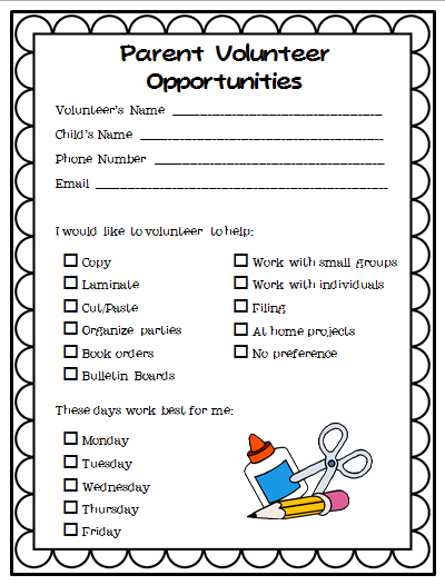 Tips for an Easy and (Almost!) Paper-free Curriculum Night ...
