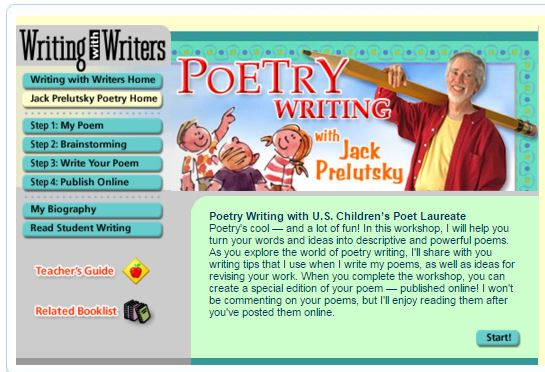 Writing Workshop on Poetry with Jack Prelutsky