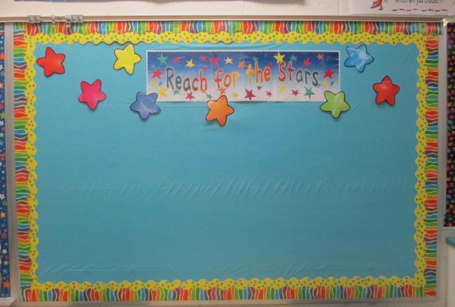 Ocean school poster board decoration ideas