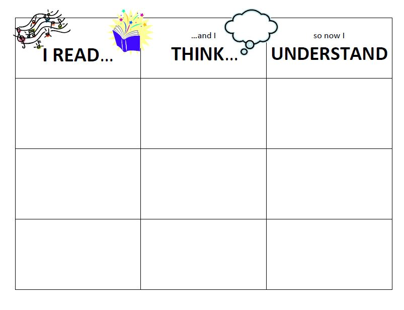 Read Write And Think Worksheets For Students