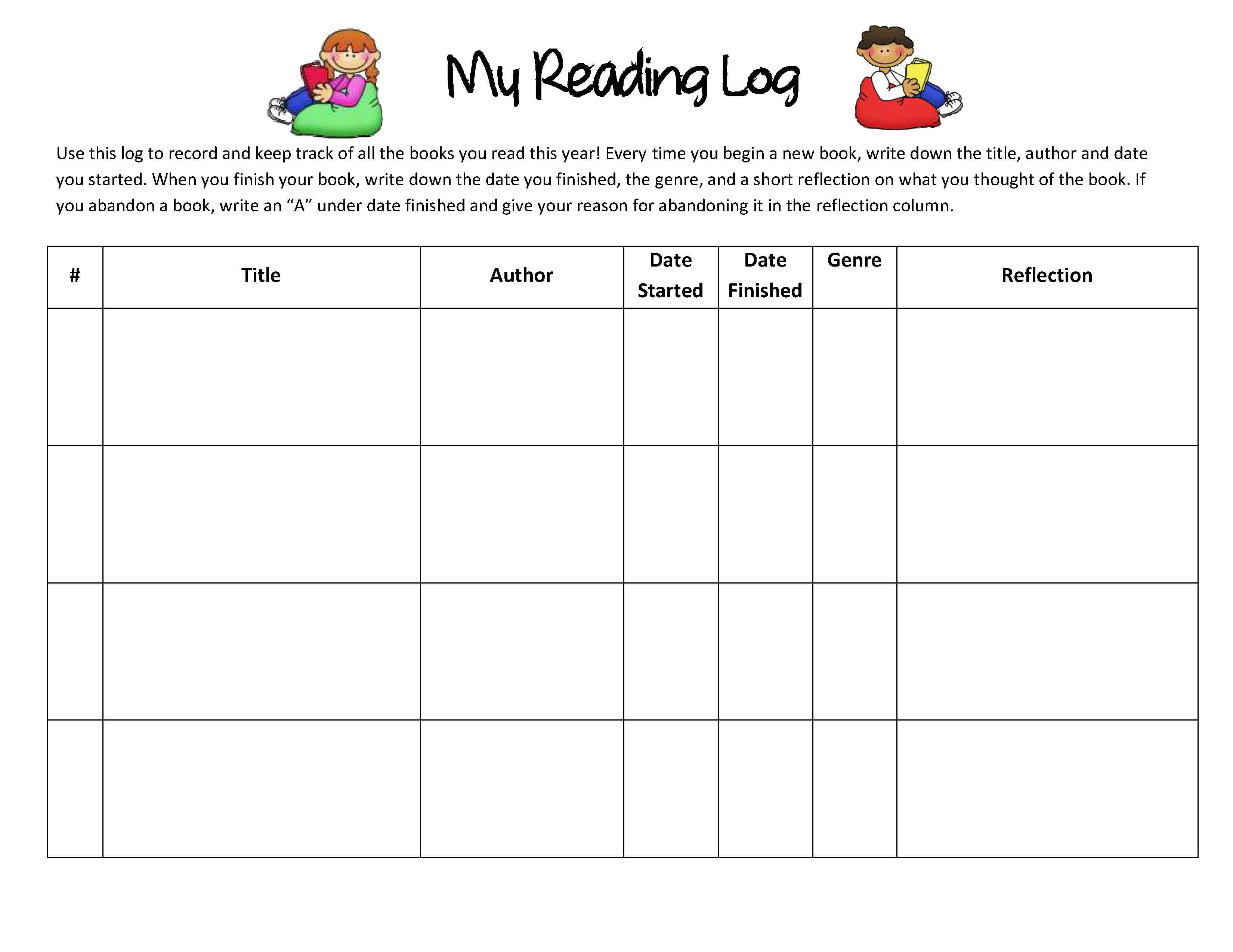 Worksheets Reading Log Worksheet reading response forms and graphic organizers scholastic binders where it all begins