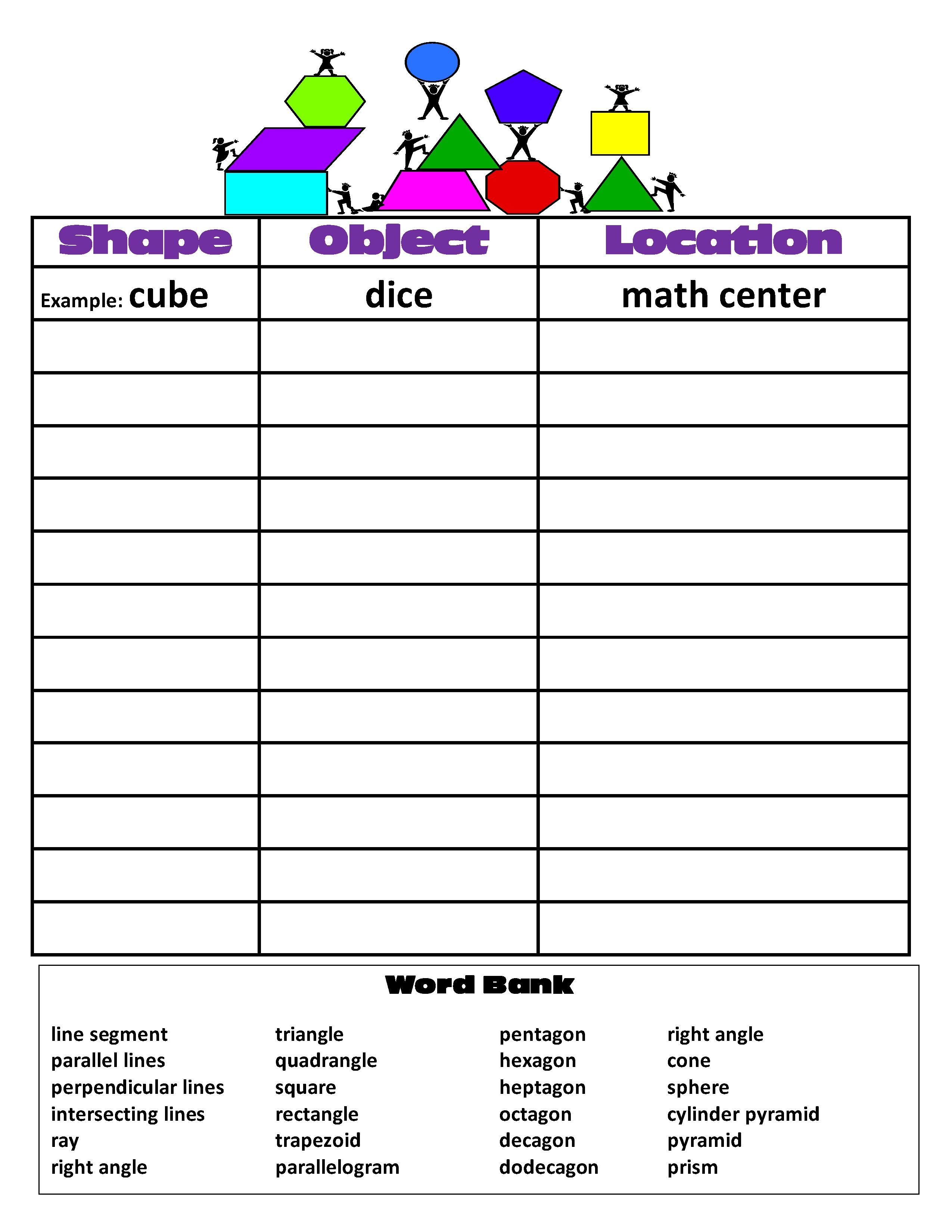 Uncategorized Math Scavenger Hunt Worksheet math scavenger hunt worksheet termolak geometry delibertad