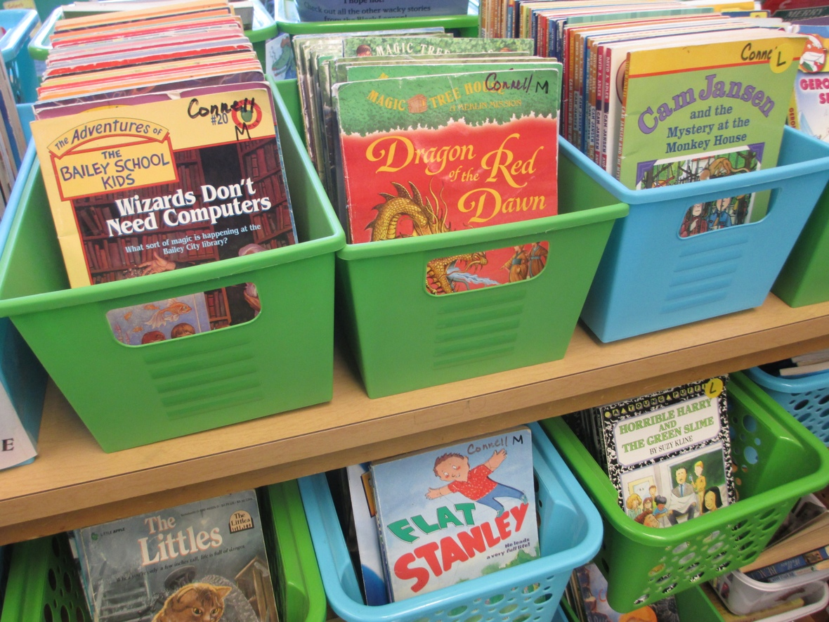 Classroom Book Ideas ~ Simple solutions for an organized classroom library