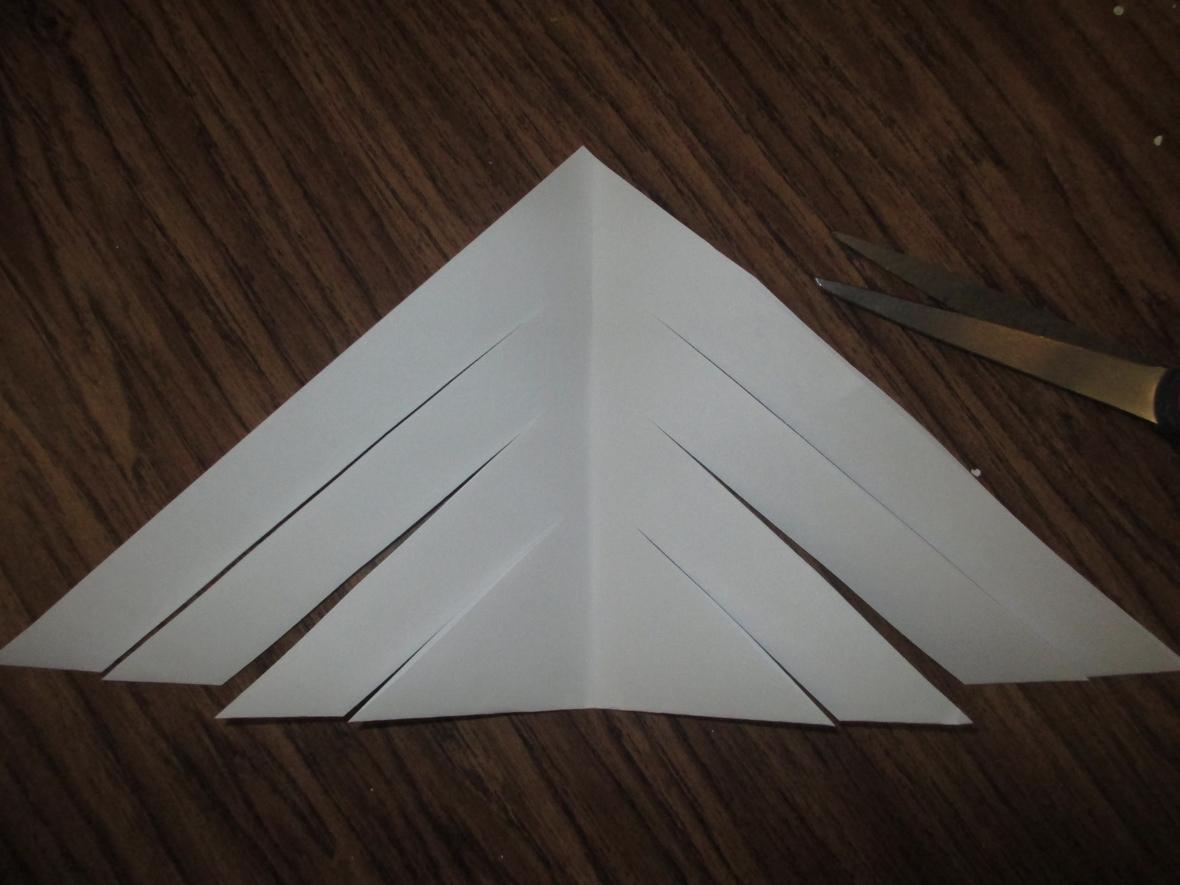 6 paper snowflake