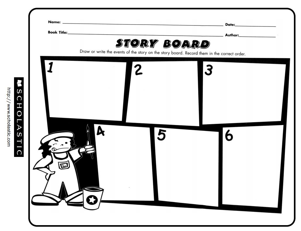 Free printable story board