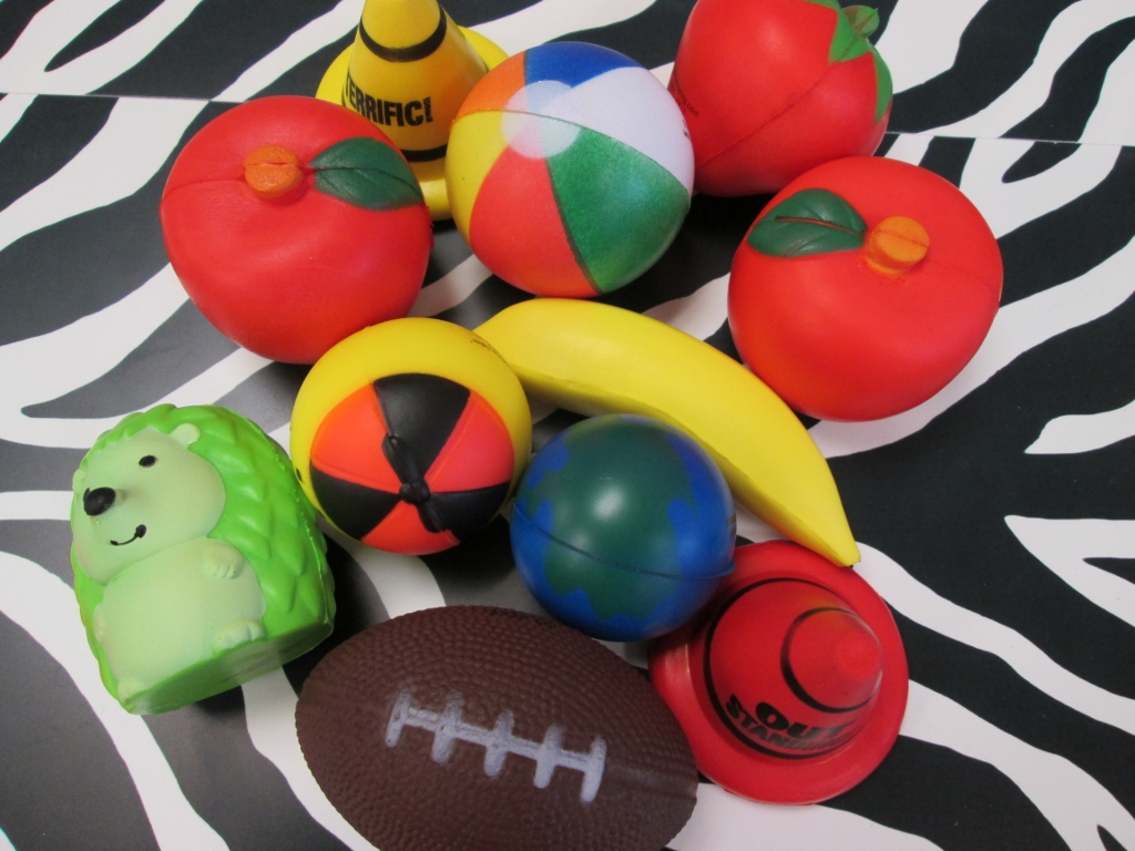 Help for your fidgety students--stress balls