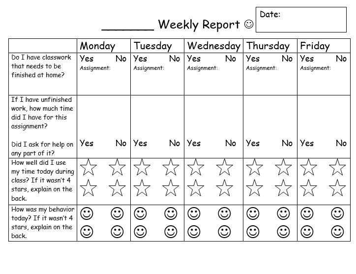 image relating to Printable Behavior Charts for Teachers titled Routines Contracts and Checklists That Operate Scholastic