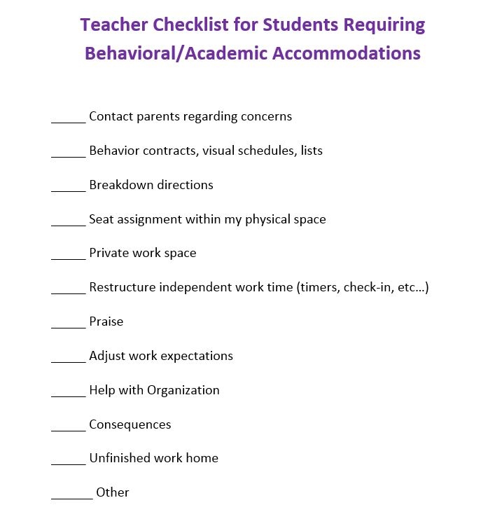 Behavior Contracts And Checklists That Work Scholastic