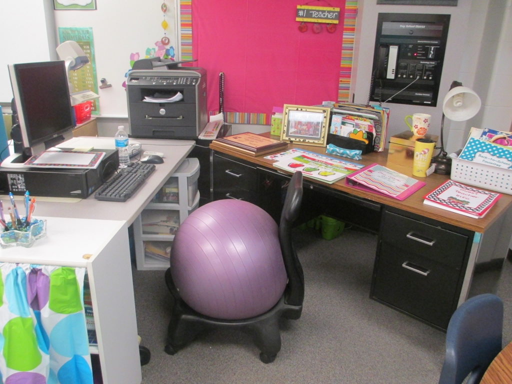 teacher work space