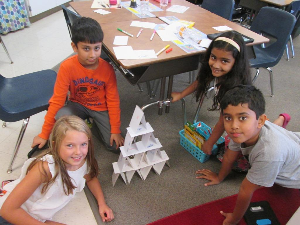 Card tower icebreaker