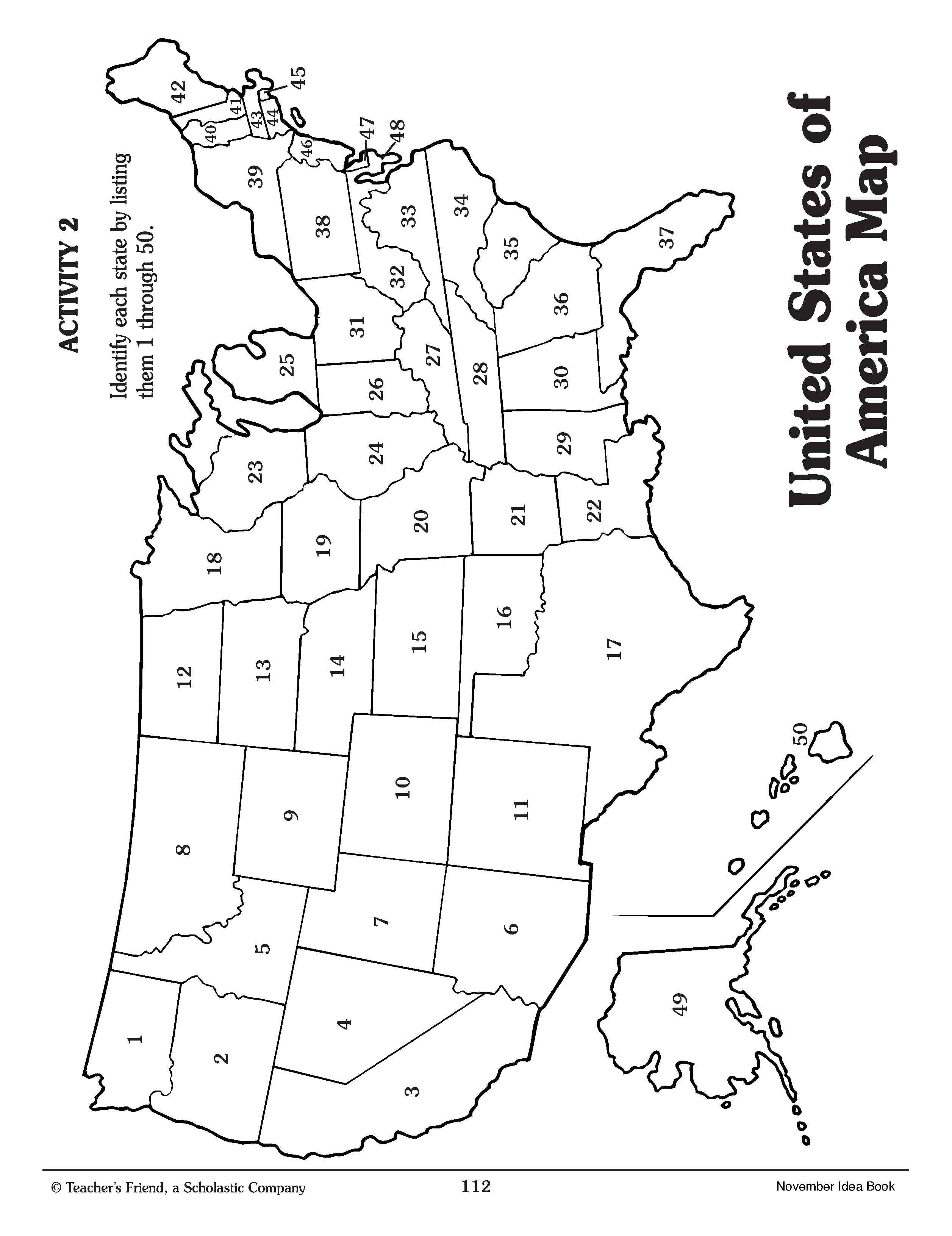 Coloring Pages Social Studies Geography And School Map Of The