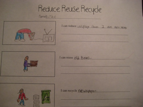 Earth Day Activities to Help You Plant the Seed – Reduce Reuse Recycle Worksheets