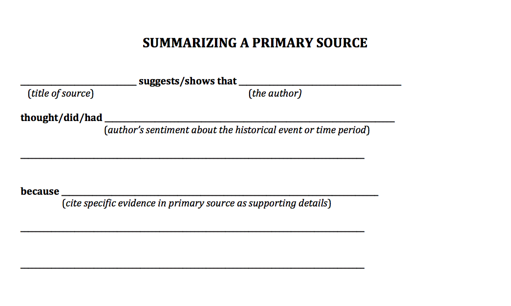 Straight To The Source A Primary Source Analysis Guide Scholastic