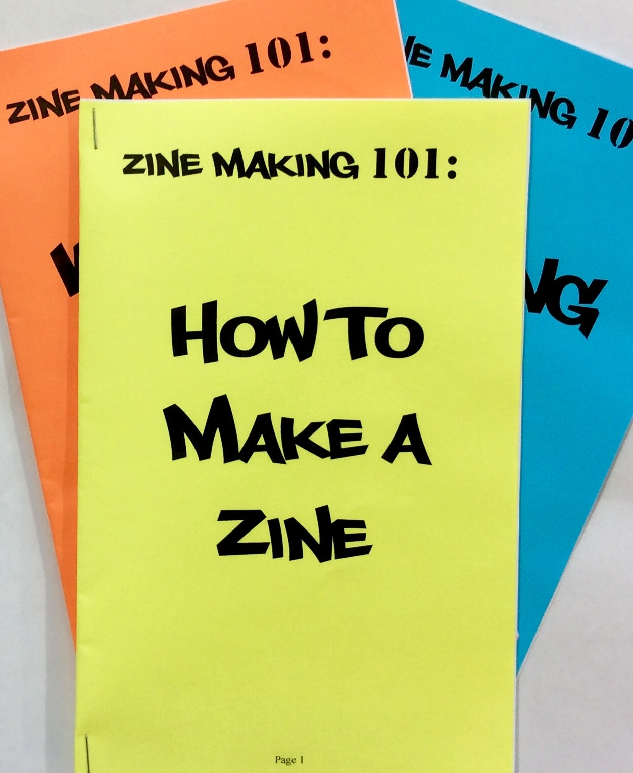 Communication on this topic: How to Write a Zine, how-to-write-a-zine/