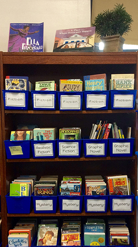 Classroom Launch Ideas ~ Ideas to launch a new classroom library scholastic