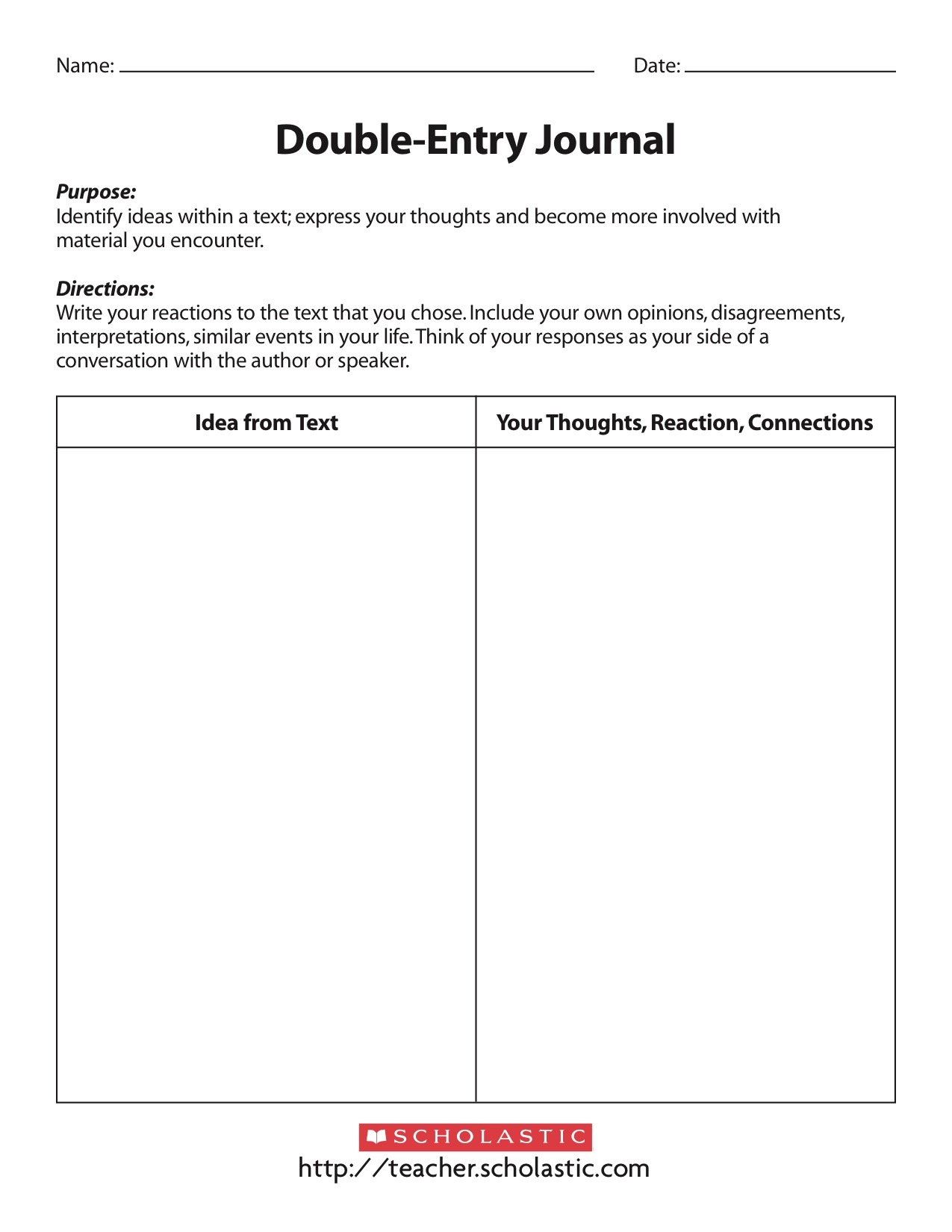 Double entry journal template for word gallery for Double sided journal entry template