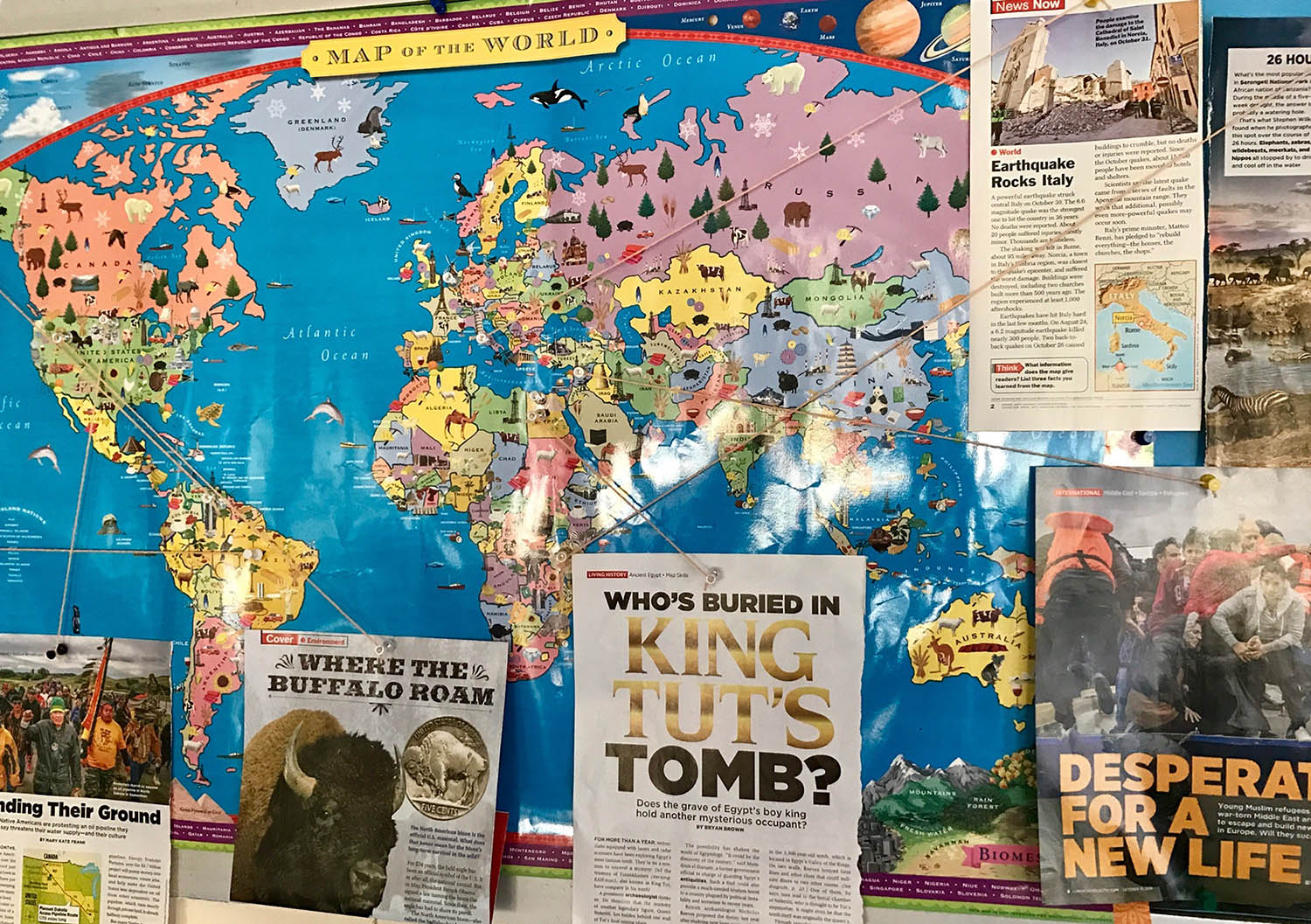Promoting geography awareness scholastic this also provides us with a perfect opportunity to learn about different locations around the world gumiabroncs Choice Image