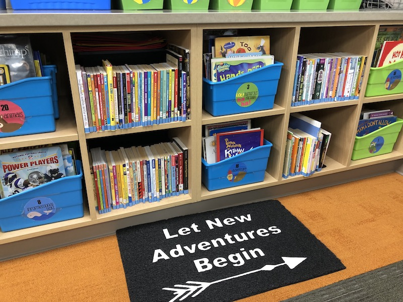 ecestylebookshelf the bookshelf library utilizing classroom a up and for class organizing setting
