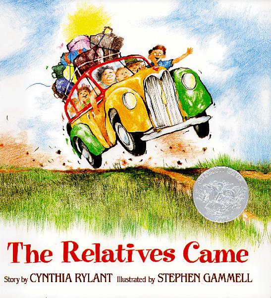 Cover of The Relatives Came book