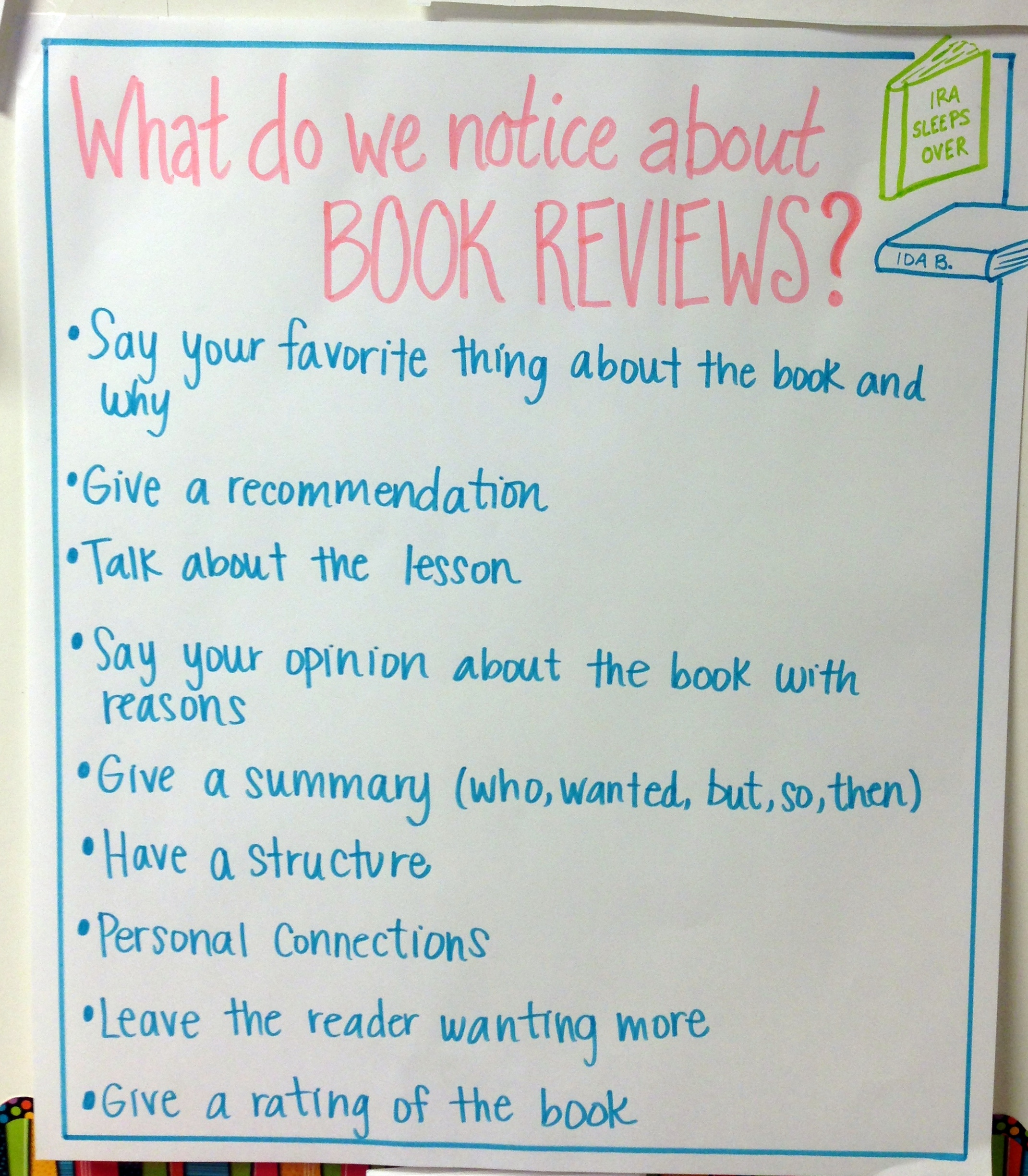 writing book reviews A book review is a thorough description, critical analysis, and/or evaluation of the quality, meaning, and significance of a book, often in relation to prior research on the topic reviews generally range from 500-1000 words, but may be longer or shorter depending on the length and complexity of the.