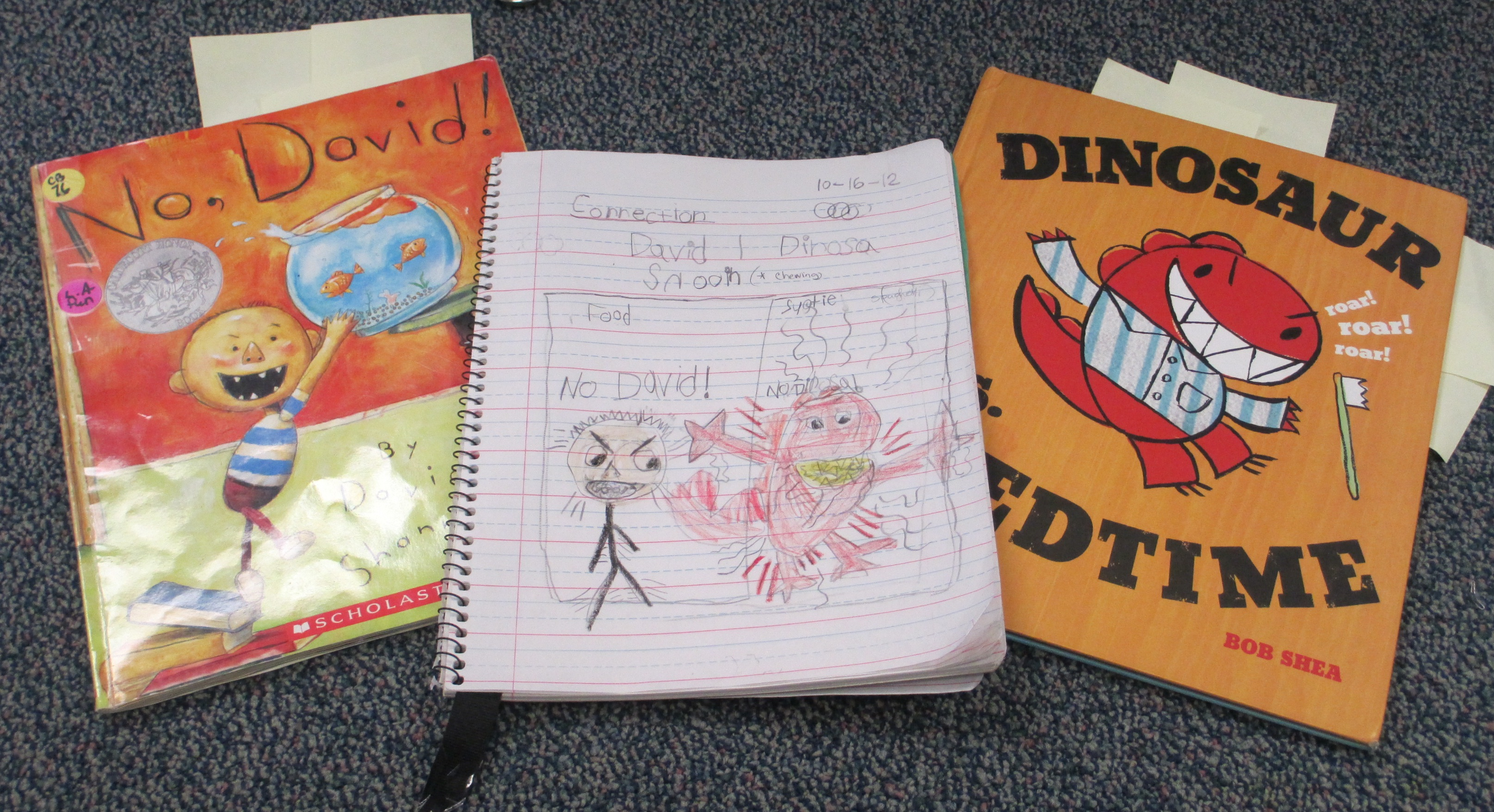 Books with Student Notebook