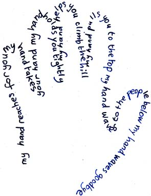 Example of Hand Poem