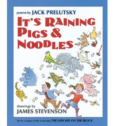 It's Raining Pigs and Noodles Book Cover