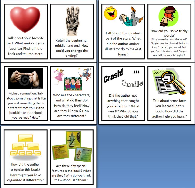Literacy Prompt Cards