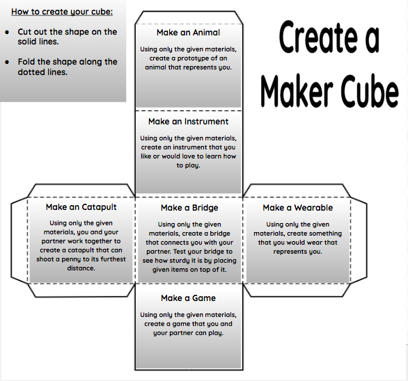 Magic Maker Cubes: Building Creativity, Kindness, and Collaboration ...