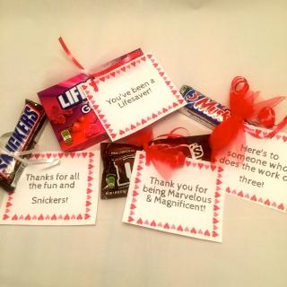candy notes of appreciation scholastic