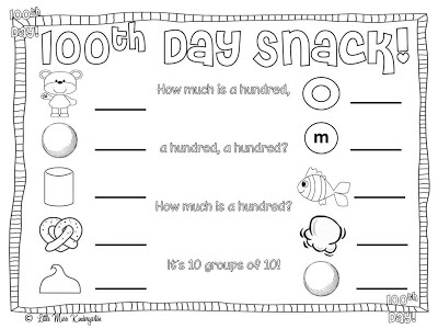 100th Day Ideas And Freebies Scholastic