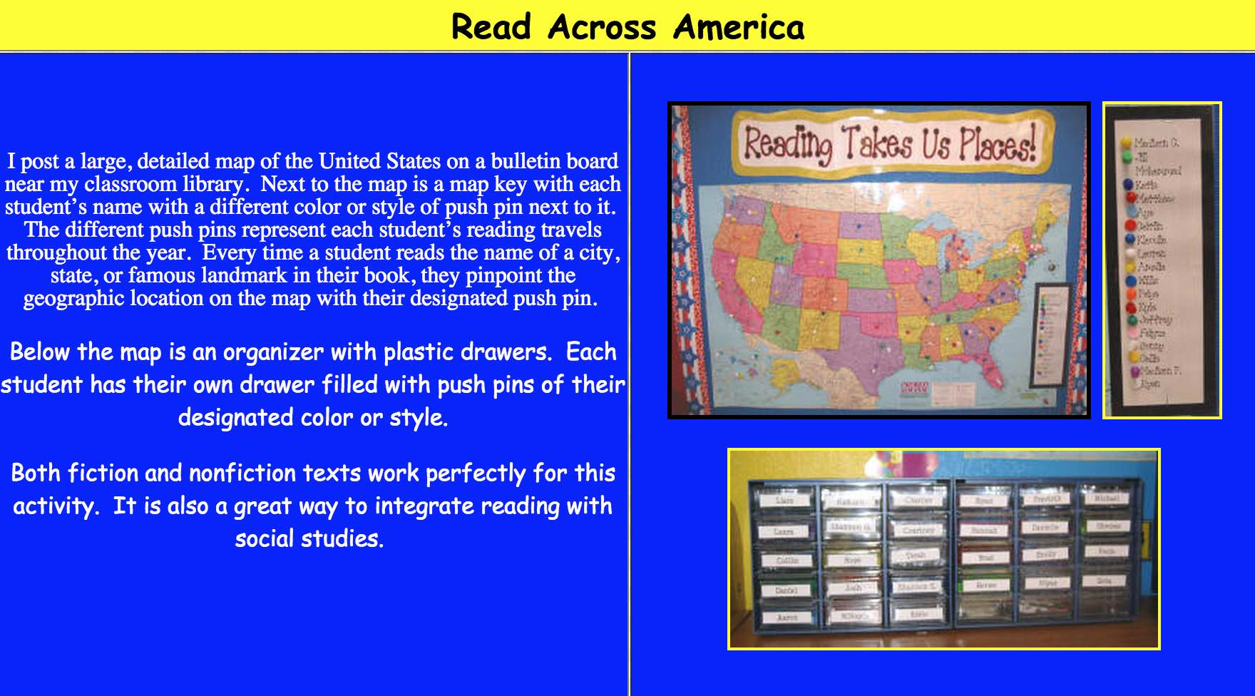 Simply Post A Map Paper Fabric Or Even Digital On Your Interactive White Board And Assign Pins Or Other Such Markers To Each Student And One To The