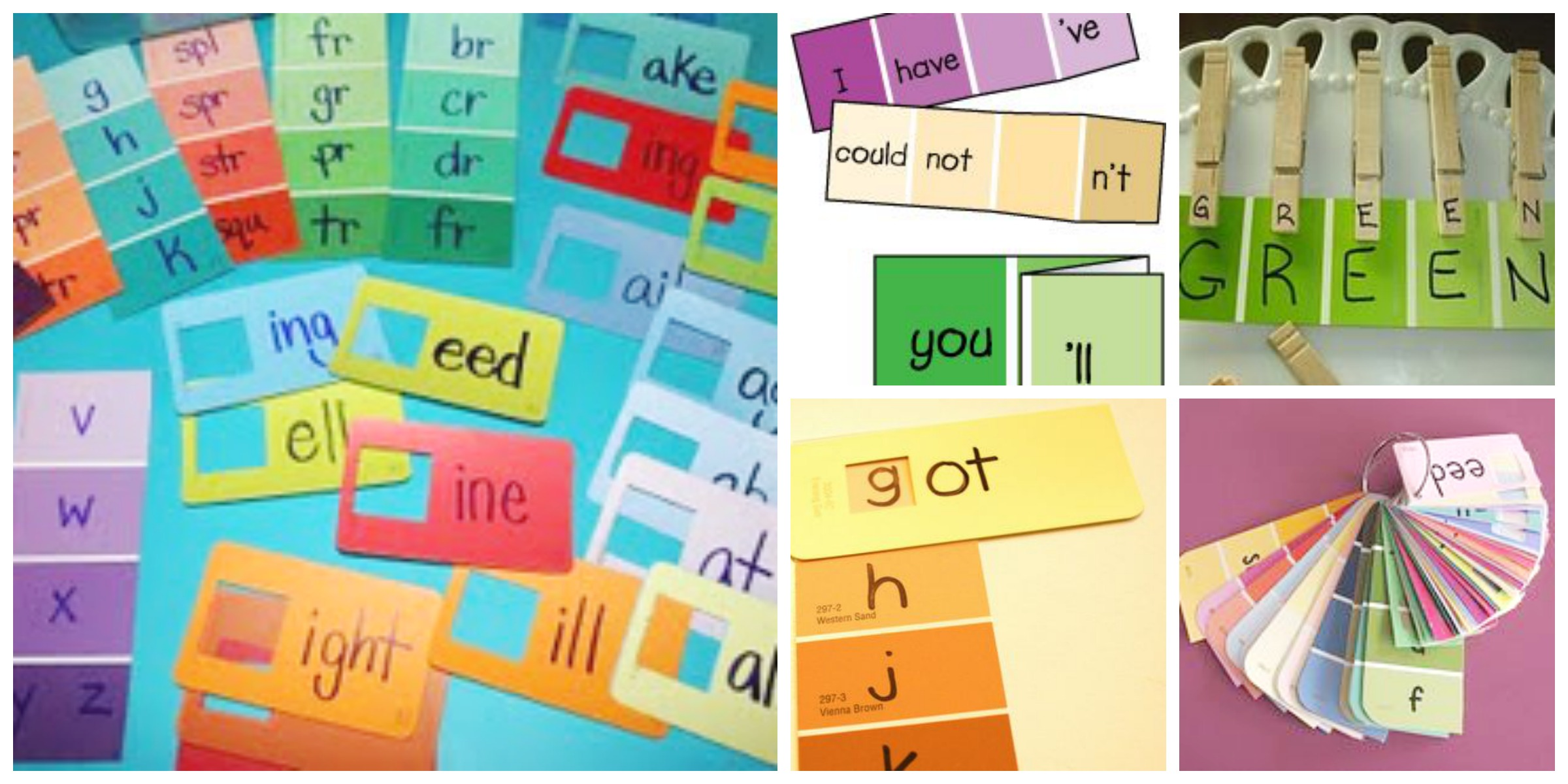 A Plethora of Paint Swatch Academic Activities | Scholastic