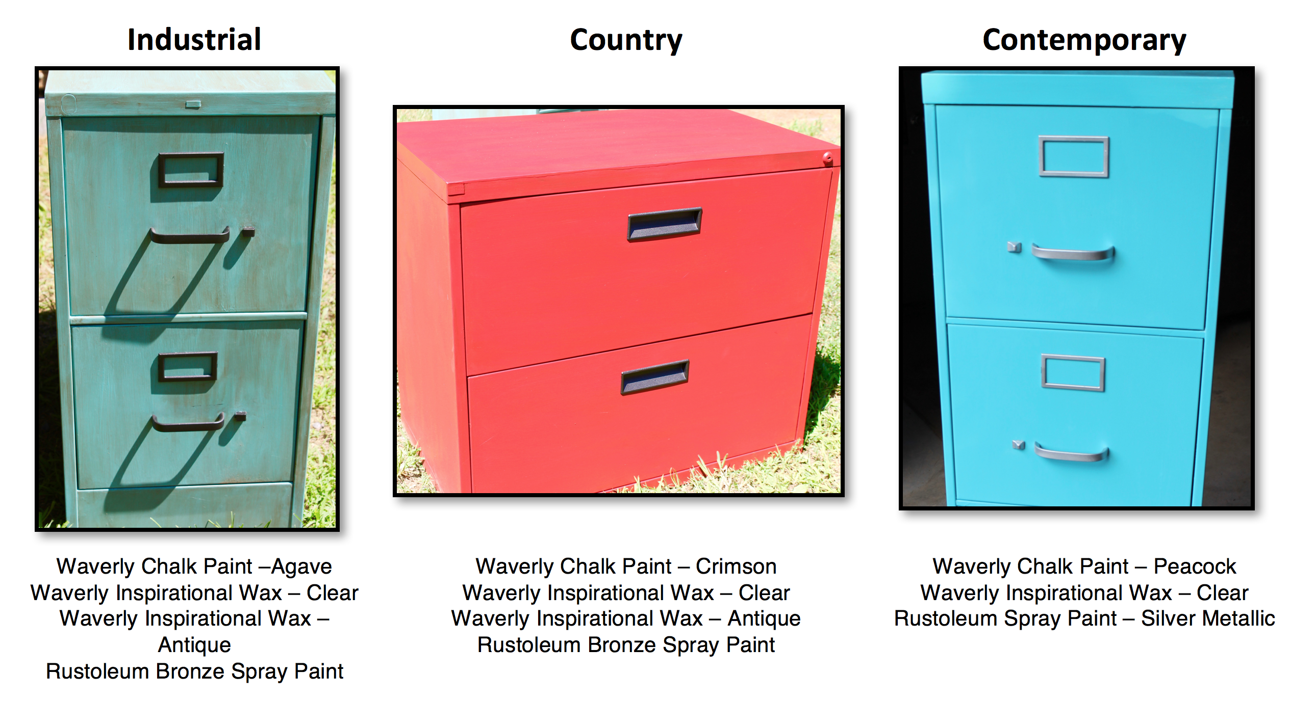 Below Are Three File Cabinet Makeover Styles That I Created, And It Only  Took About Three Hours Over A Two Day Period To Refurbish Each Cabinet.