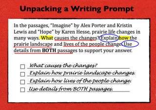 State Assessments — Unpacking the Writing Prompts | Scholastic