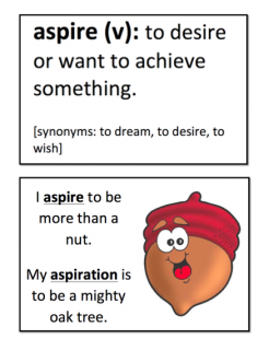 aspiration examples if you aspire