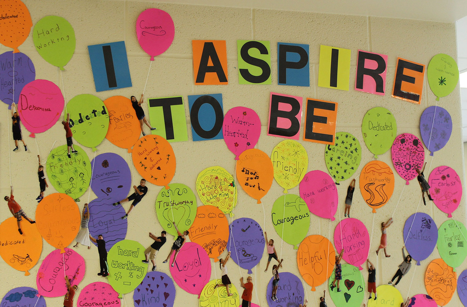 Aspiration Balloons Icebreaker With a Sprinkle of Character