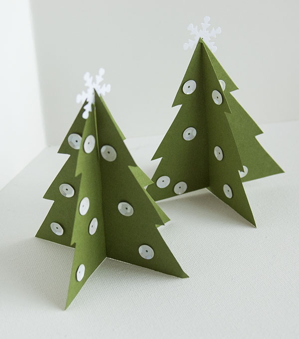 3 d christmas trees 3d christmas trees - How To Make 3d Christmas Decorations