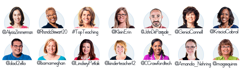 Twitter handles for Scholastic Bloggers