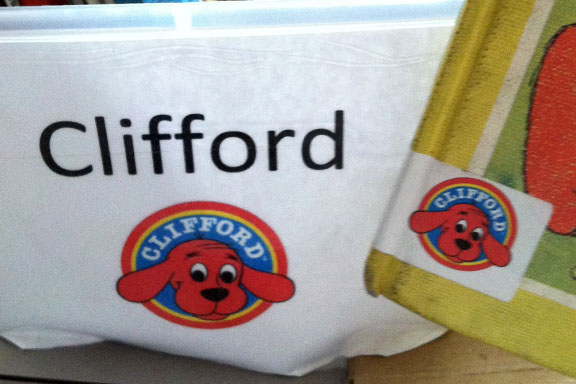 Clifford book labels
