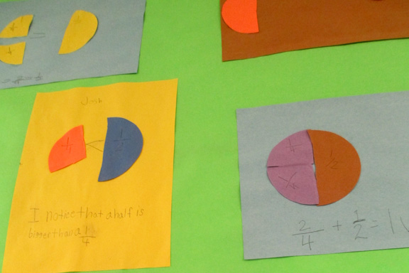 Modeling with Fractions