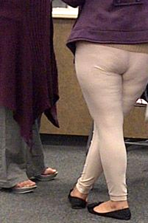 Flesh leggings