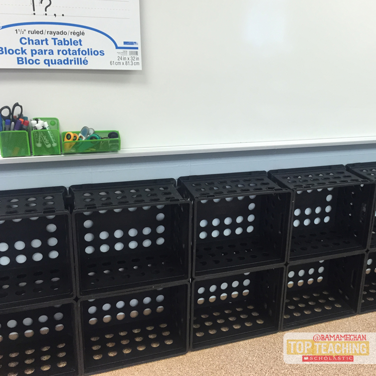 Cubbies for classroom