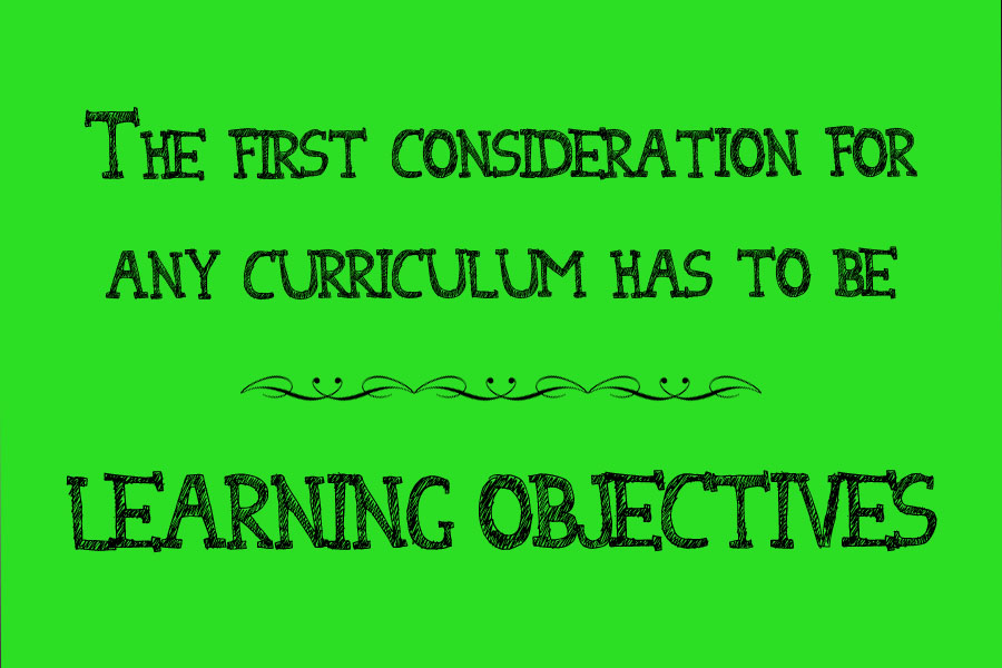 Learning objectives quote