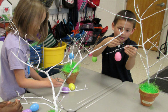 Tying Eggs to a Tree