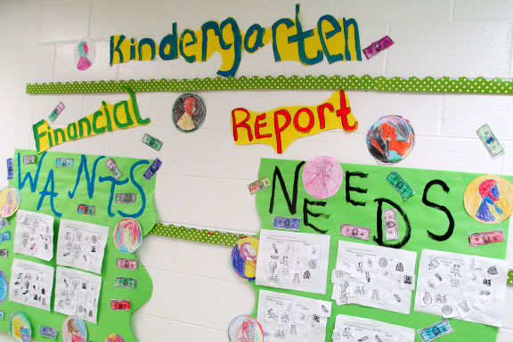 Kindergarten Needs and Wants