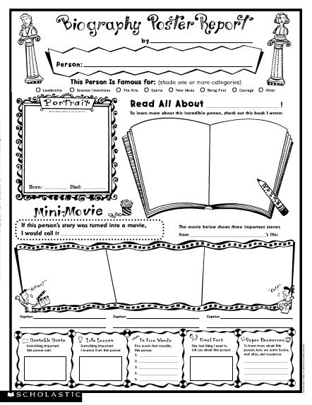 non fiction book report organizer Use this flipbook organizer to scaffold the structure of a non-fiction book report the prompts for each of the key elements of the report will help students write effectively and keep on.